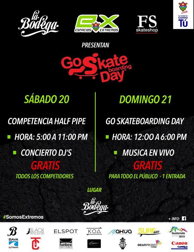go skateday